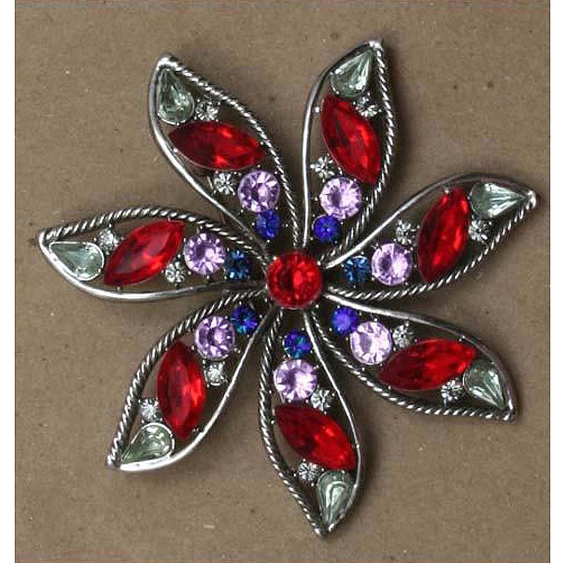 Flower Pin with Seven Petals