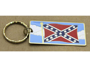 Confederate Battle Flag Key Ring