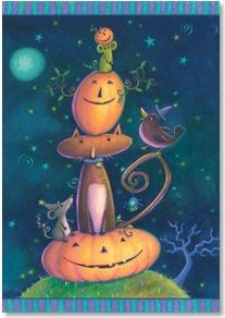 Halloween Card Smiles