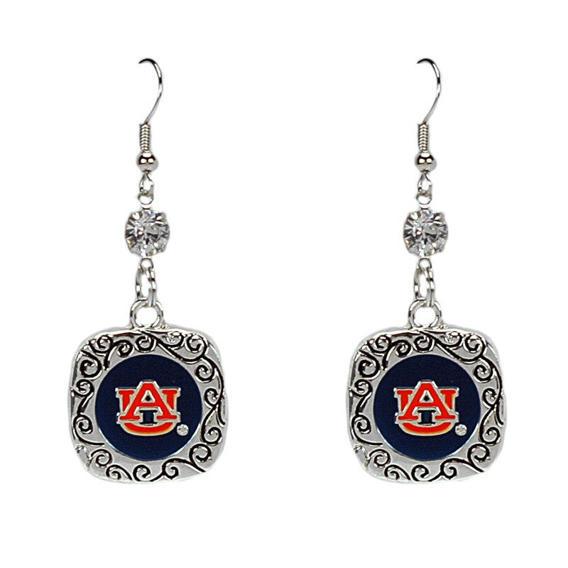 Square Pride Earrings Auburn