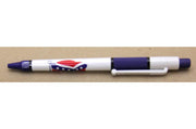 Ink Pen Confederate Flag blue barrel