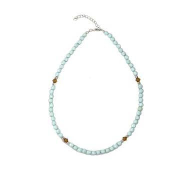 Beaded Necklace Turquoise
