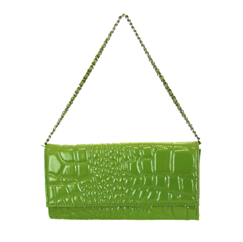 Pixie Handbag-Puff Lime