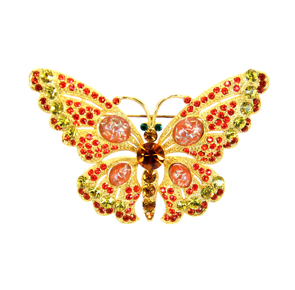 Butterfly Pin Orange