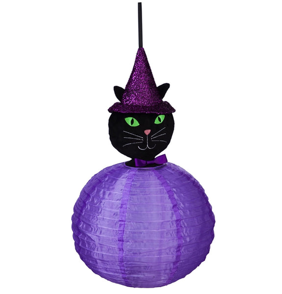 Black Cat Beaming Buddies Lantern