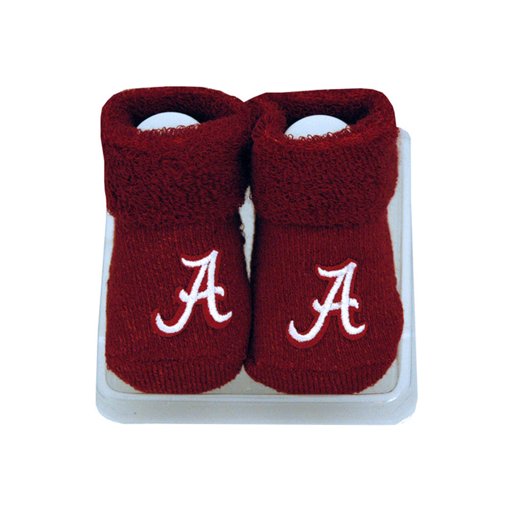 Alabama Infant Booties