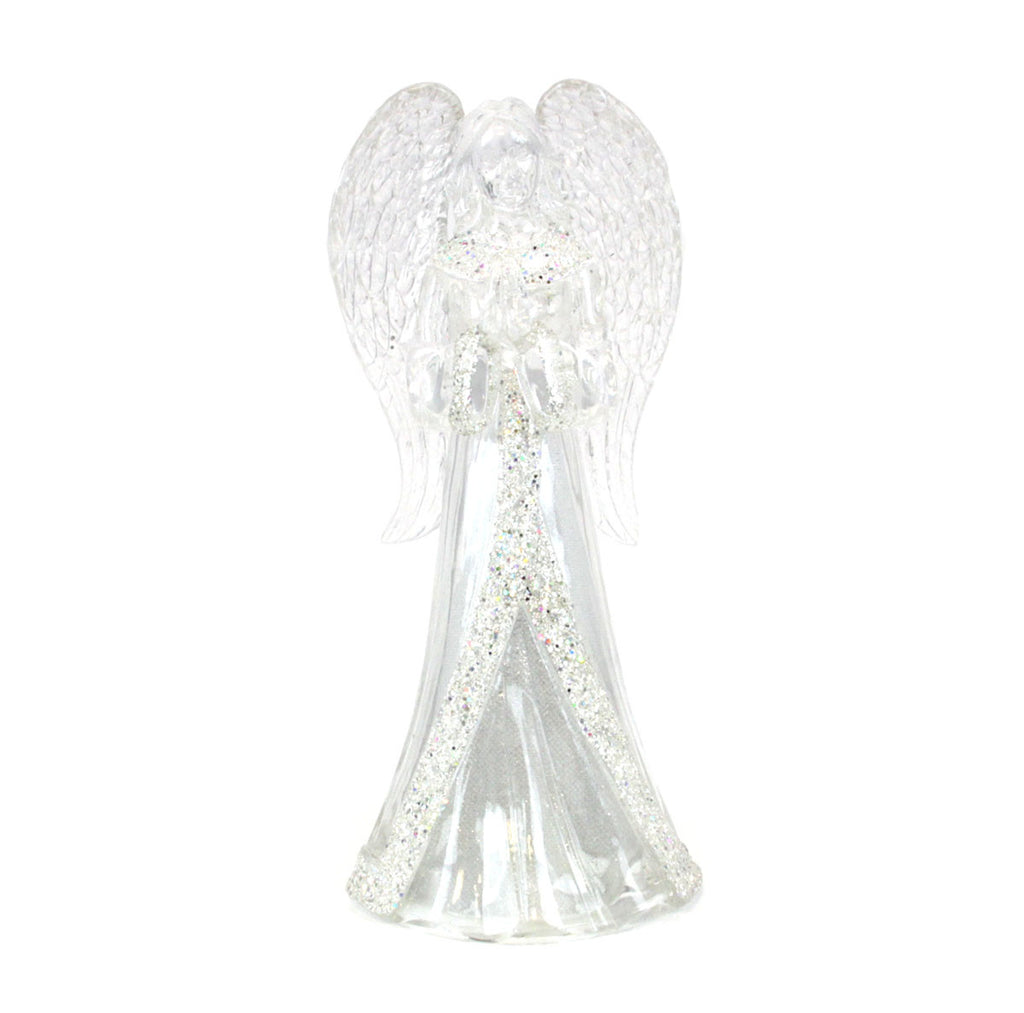 Angel Acrylic Glitter Light Up