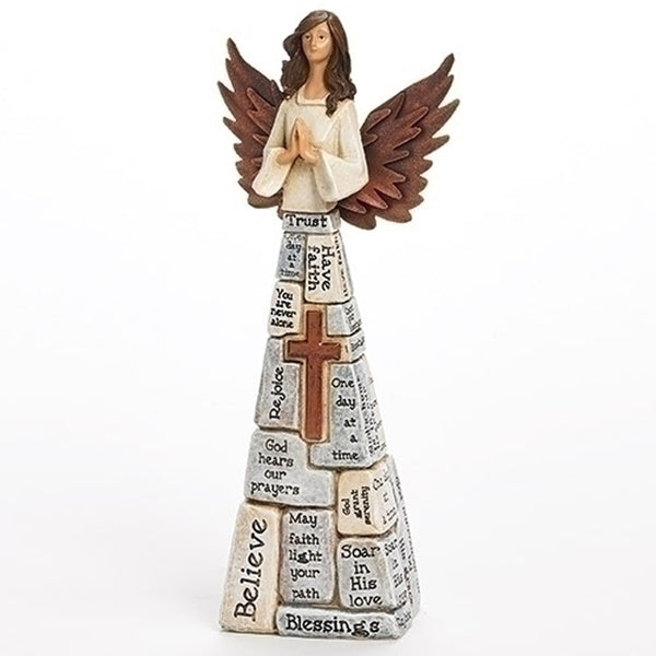 "10.5"" Crossword Angel"