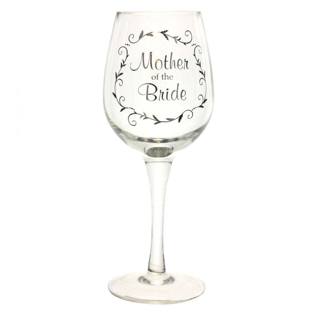 Wedding Wine Glass Mother of the Bride