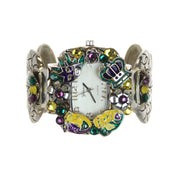 Watch Cuff Mardi Gras