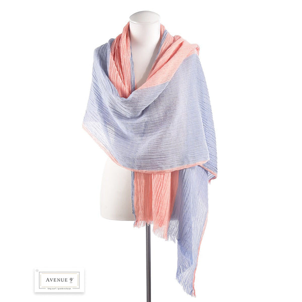 Avenue 9 Colorblock Scarf