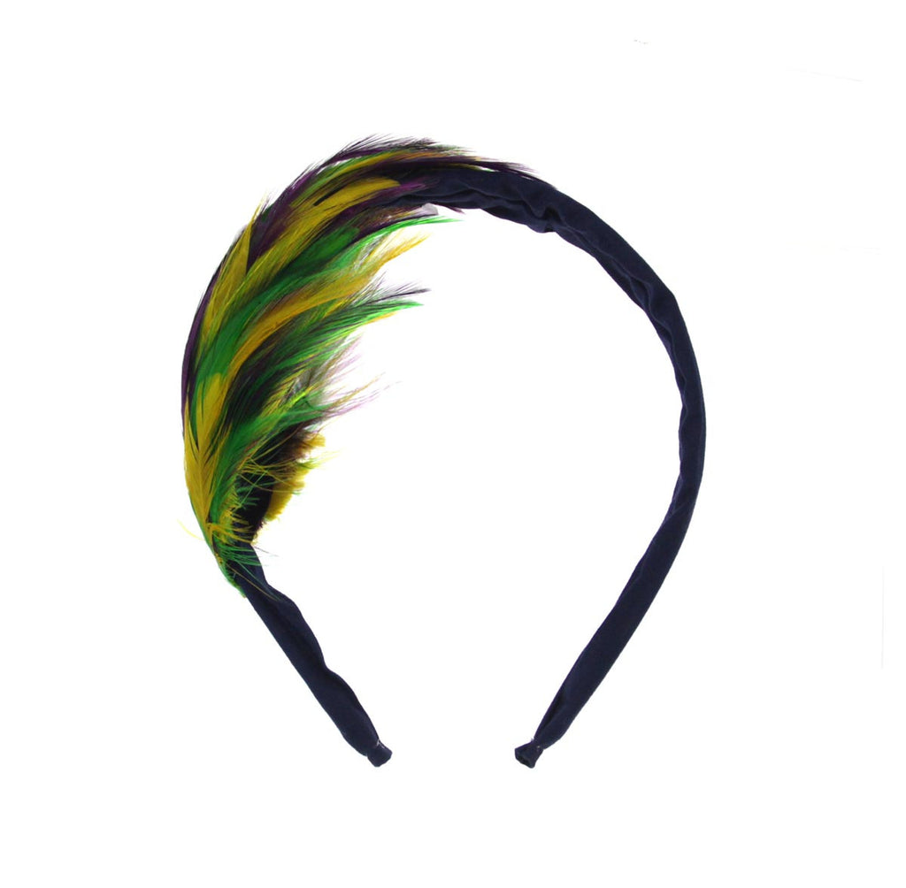 Headband with Feathers