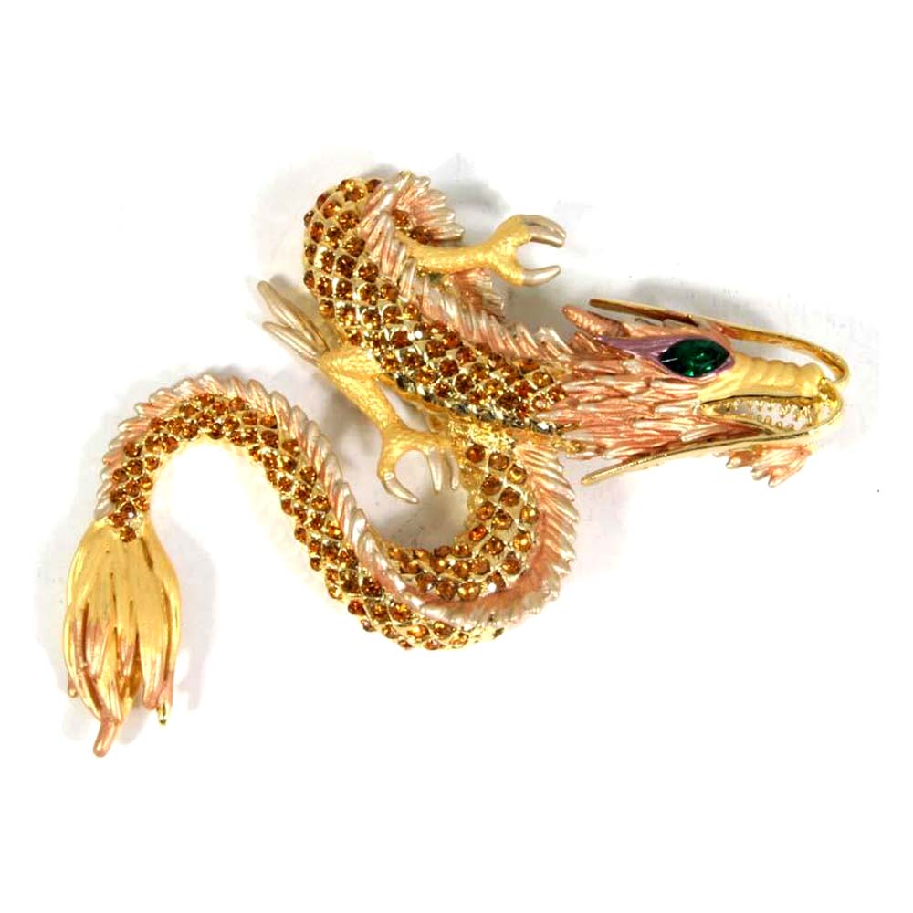 Dragon Pin Gold