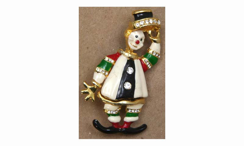 Clown Pin, Tipping Hat