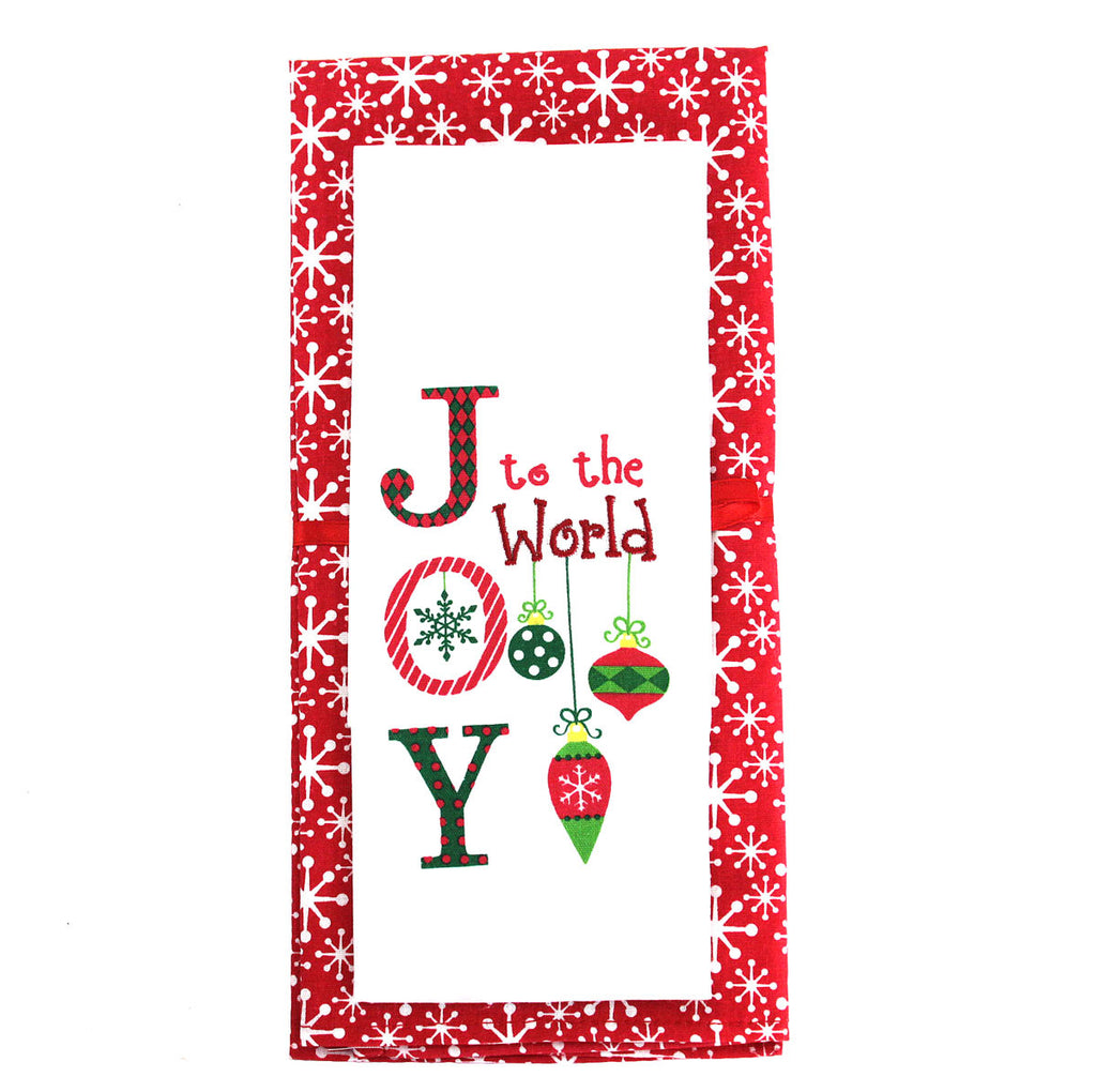 "Tea Towel ""Joy to the World"""
