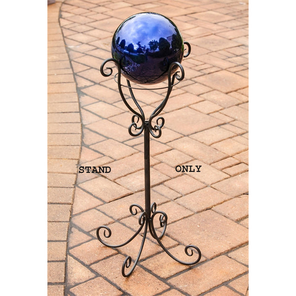 Birdbath/Fireside Stand, Scroll Metal