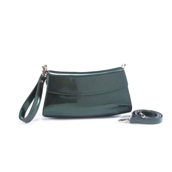 Beijo Handbag Signature Collection Crescent Lady Forest