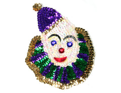 Applique Clown Head