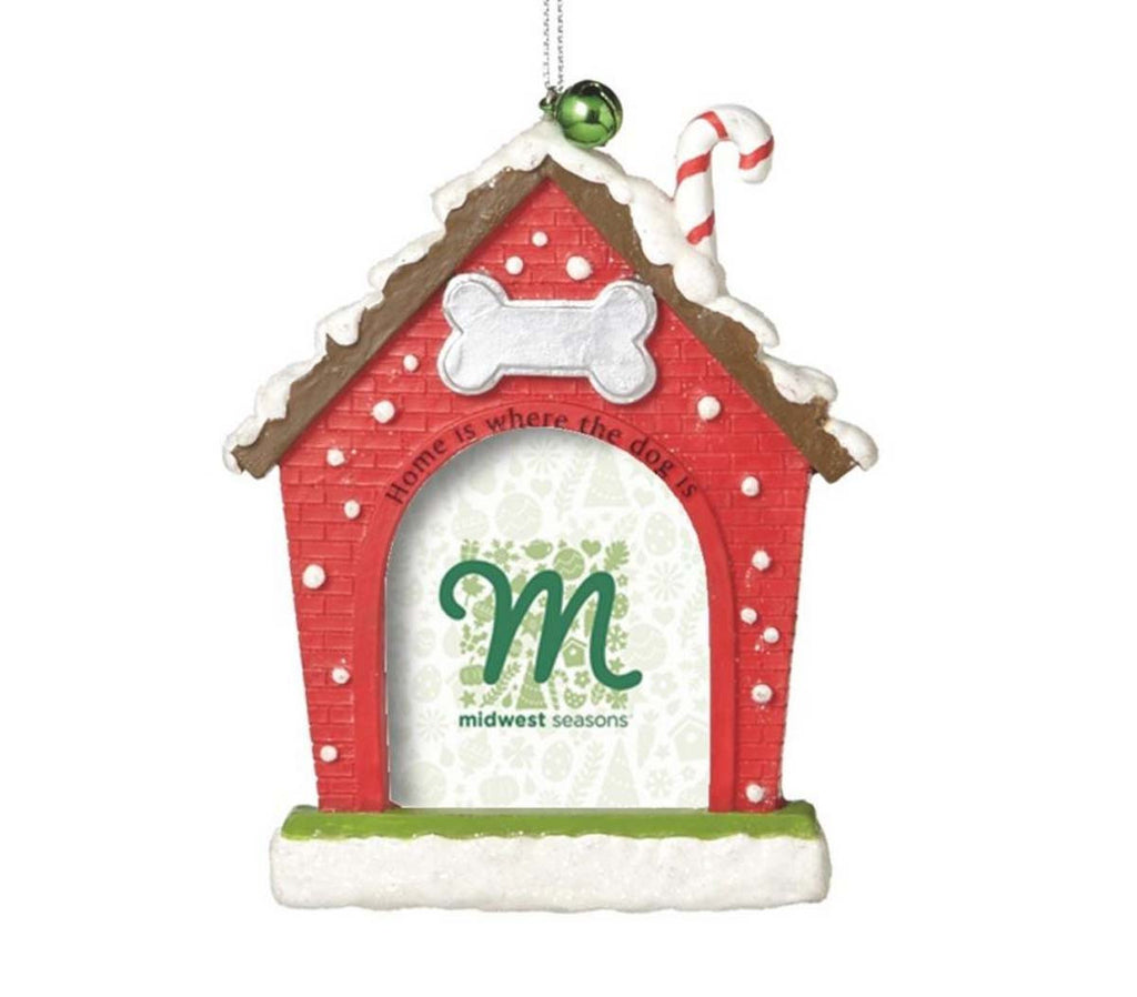 Christmas Dog House Frame/Ornament