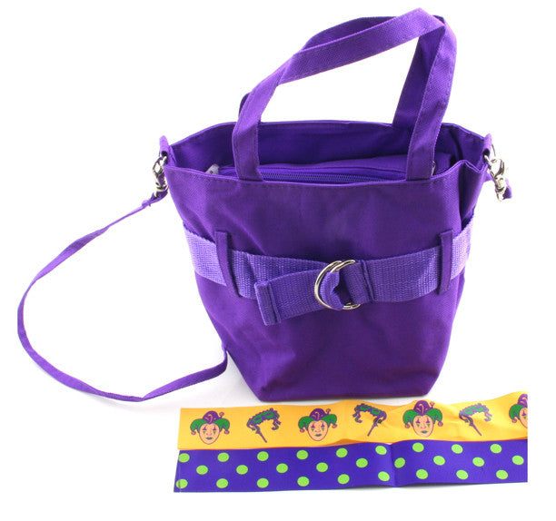 Purple Canvas Bag medium