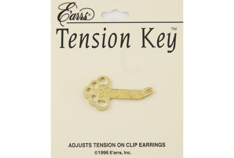 Tension Key Clip Earrings