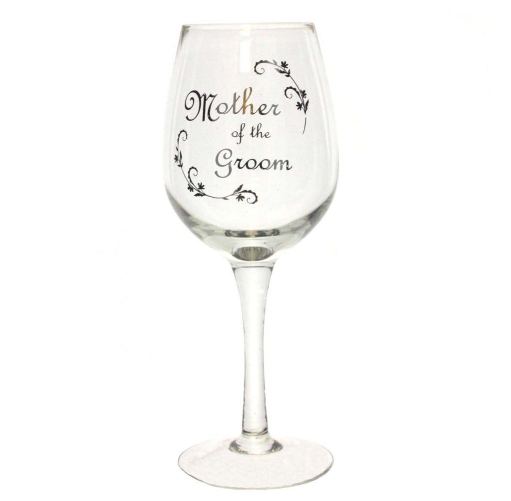 Wedding Wine Glass Mother of the Groom