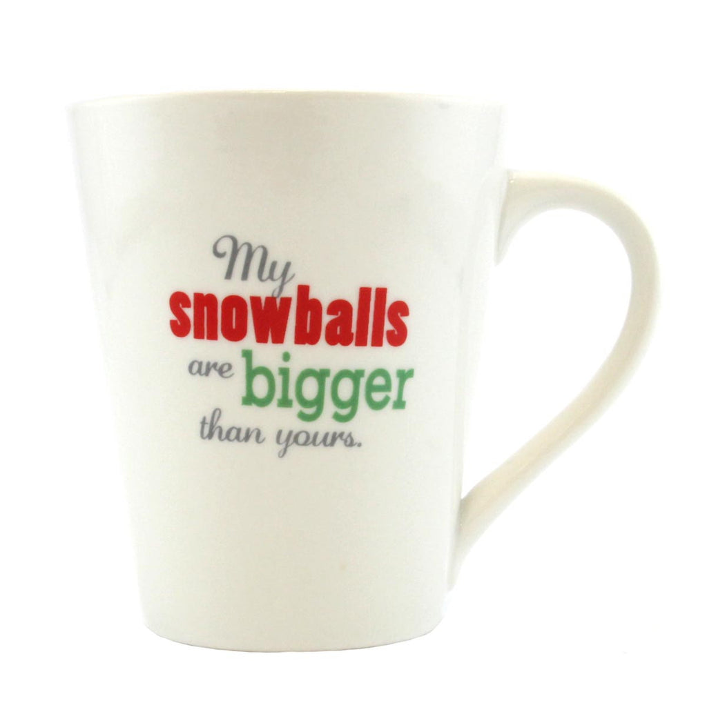 Christmas Coffee Mug Snowballs