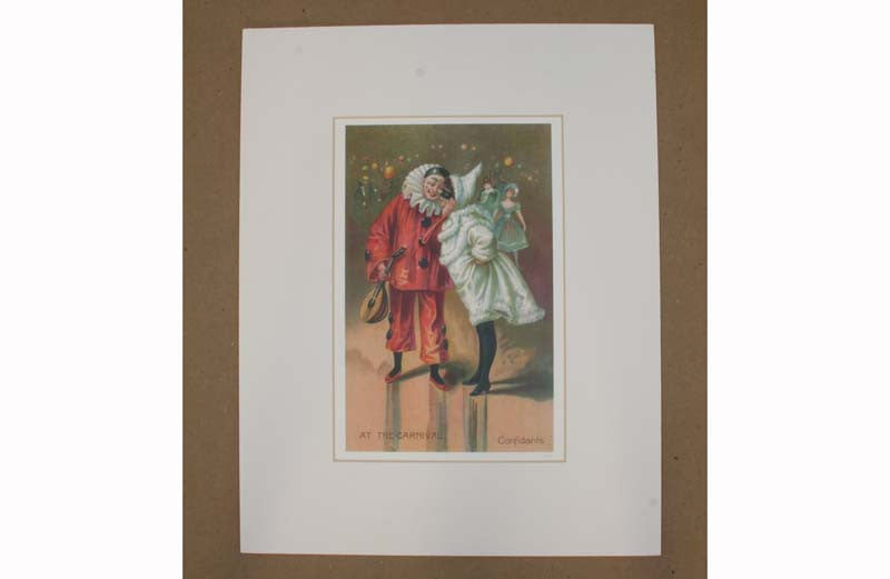 Confidants At The Carnival Print