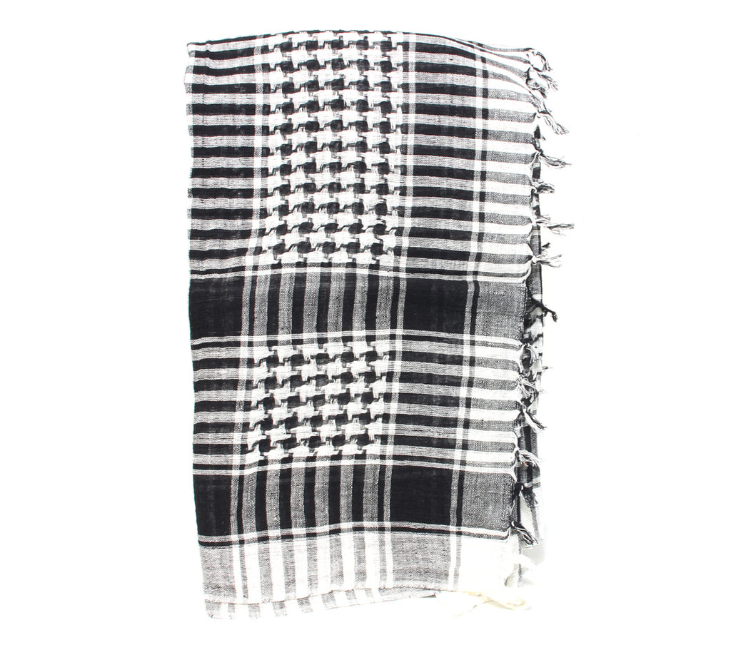 Houndstooth Scarf Square Printed