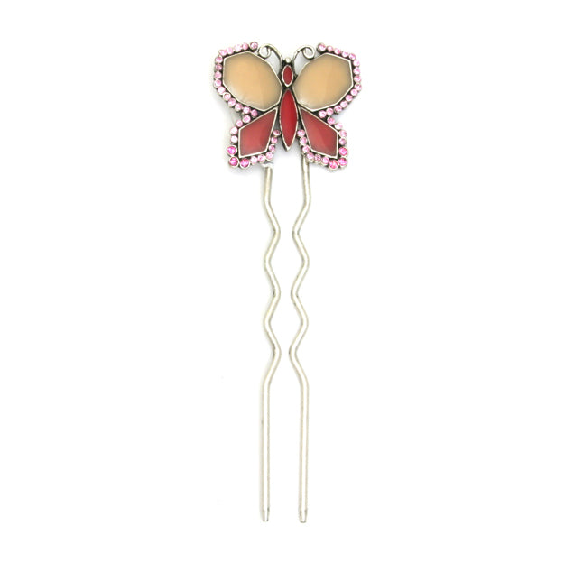 Butterfly Hair Accessory Pink