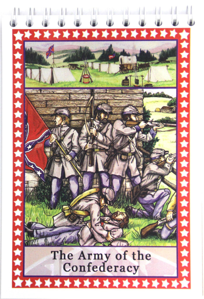 Army of the Confederacy Note Pad