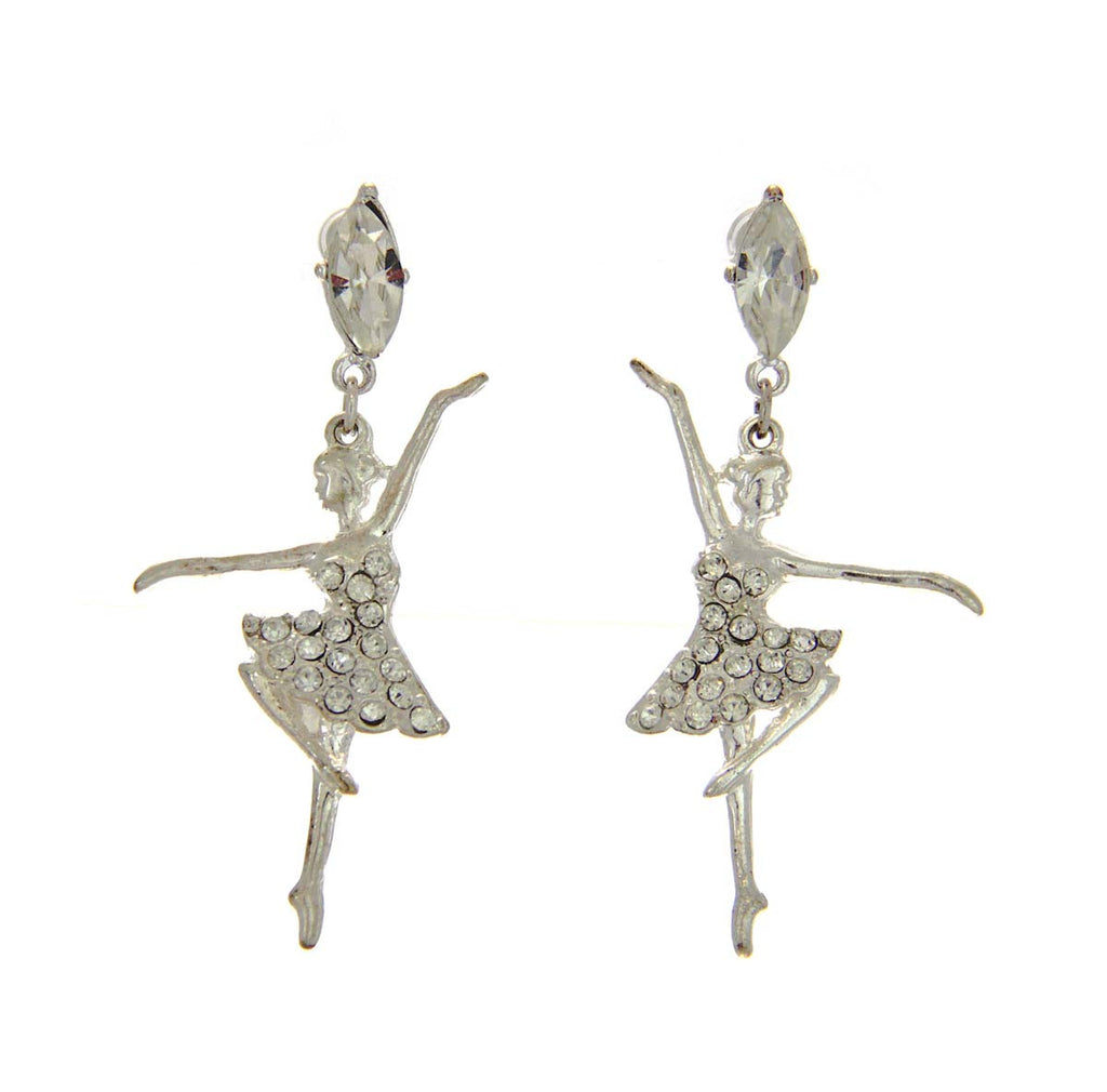Ballerina Crystal Earrings