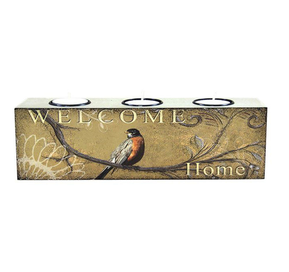Bird Three Tealight Holder - Home
