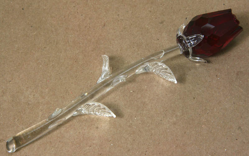 Glass Rose - Large