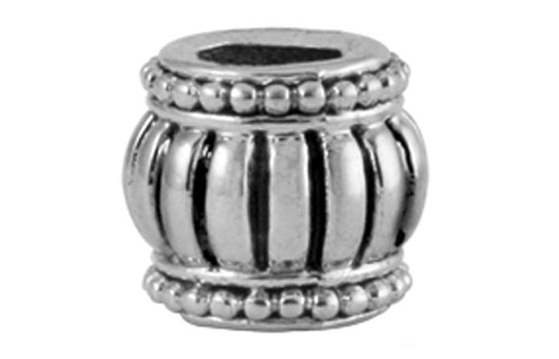 Fluted Drum Bead