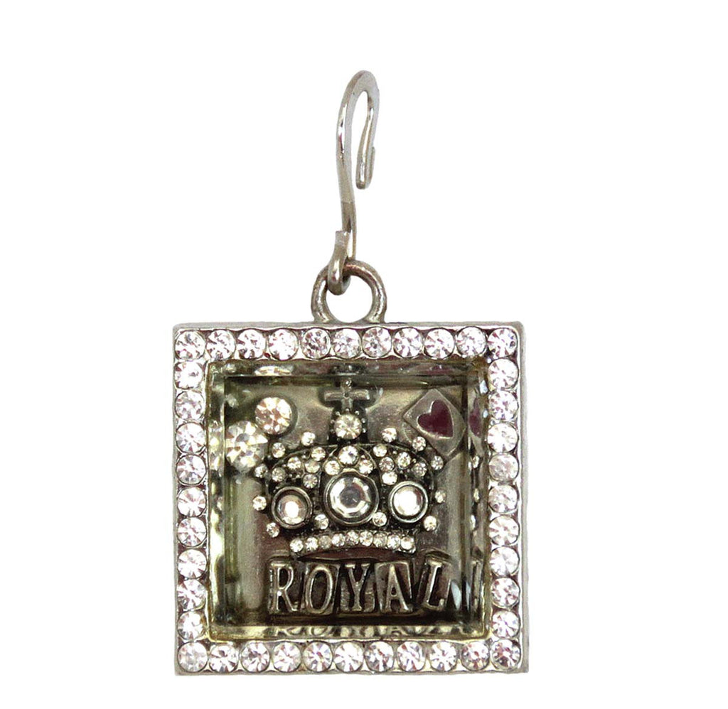 Crown Charm/Pendant Shadow Box