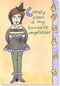 Halloween Card Your My Favorite Vegetable