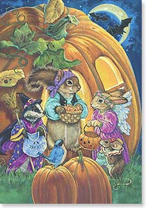 Halloween Card Suprises