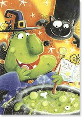 Halloween Card Magical Brew