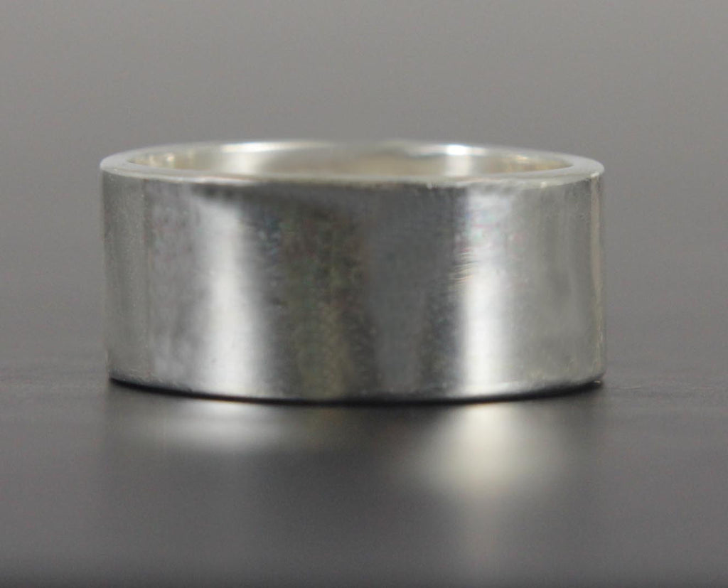 Sterling Silver Ring Cuff Size 7.5