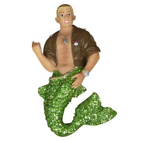 December Diamonds Johnson Merman Magnet