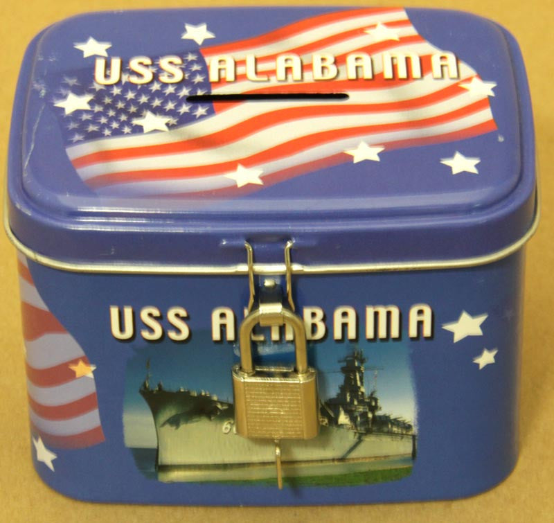 USS Alabama Souvenir Bank