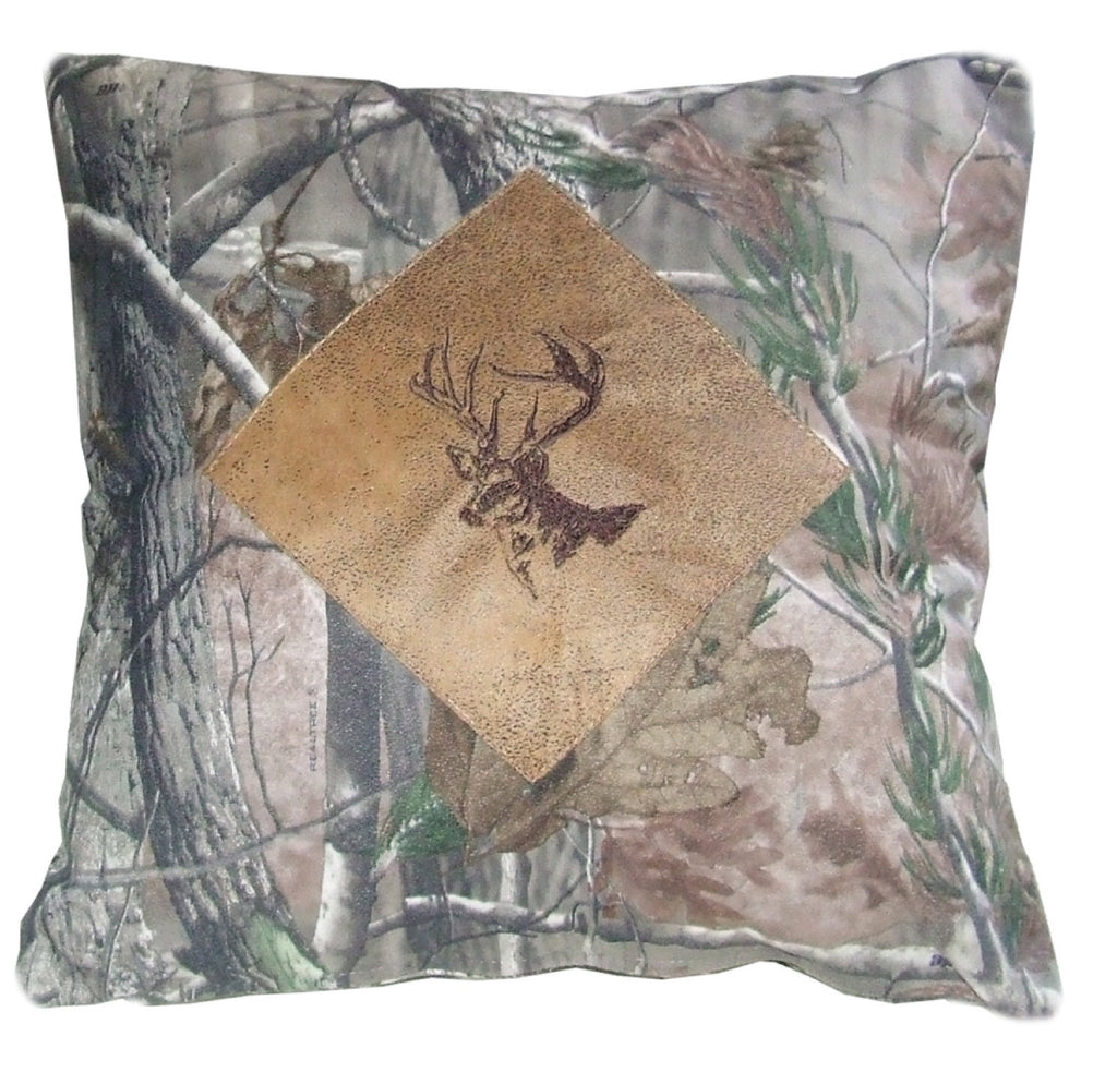 Realtree Buck Camo Pillow