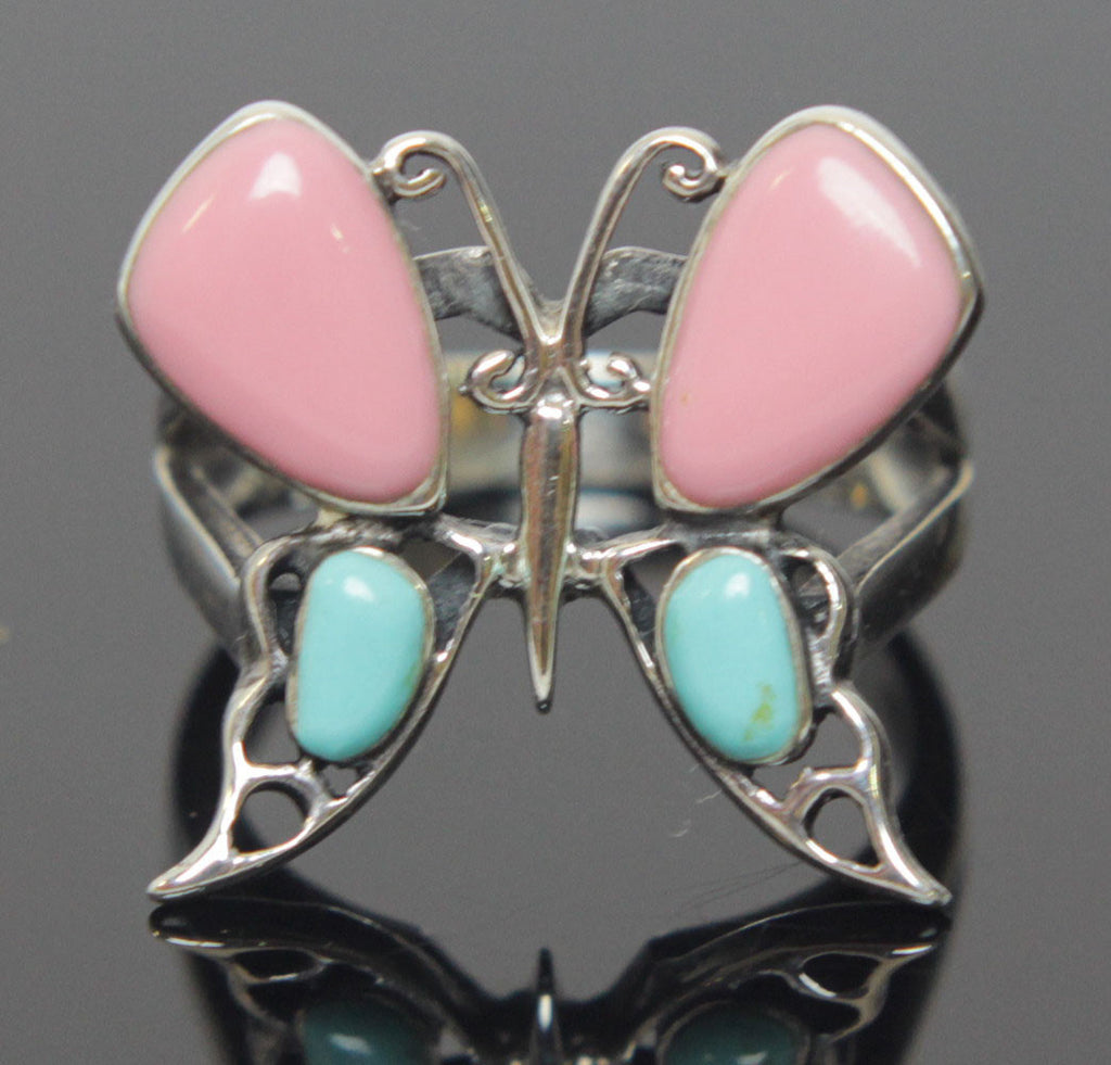 Butterfly Ring Sterling Silver Size 7