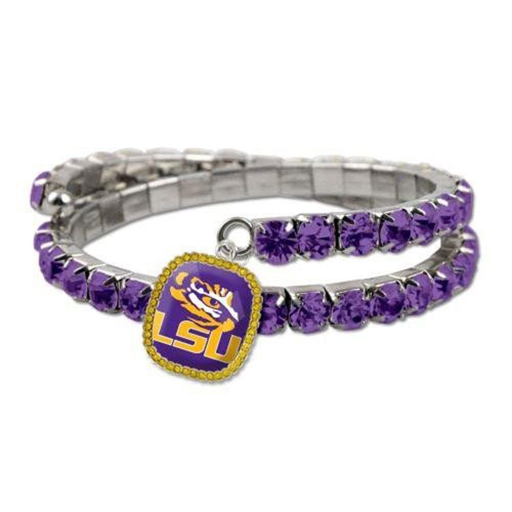 Double Bling Bracelet LSU