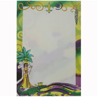 Mardi Gras Queen Invitation, Individual