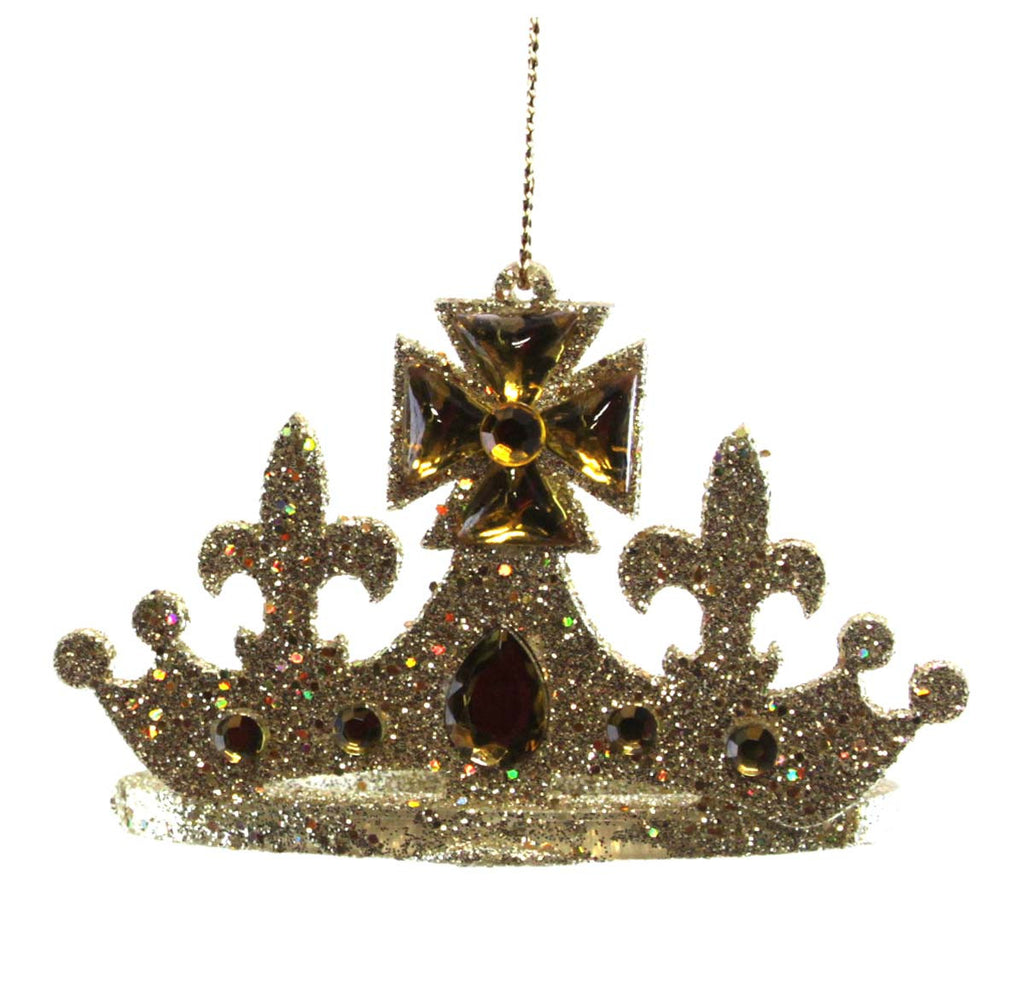 Crown Ornament Gold King