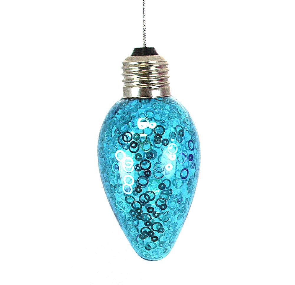 Bulb Ornament Blue