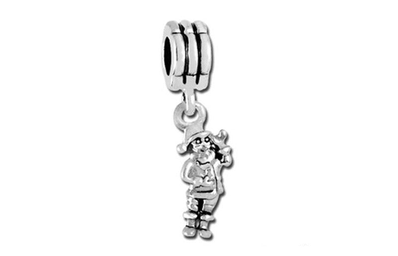 Dangle Santa Bead