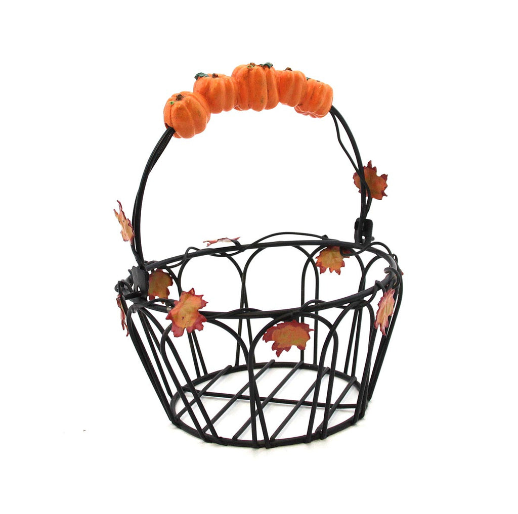 Basket with Pumpkin Handle